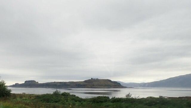 Loch Linnhe and Shuna Island