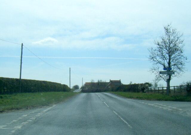 Four Lane Ends junction