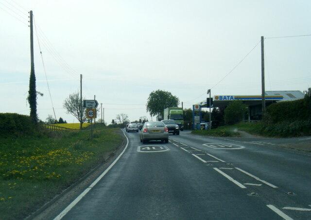 A166 leaving Gate Helmsley