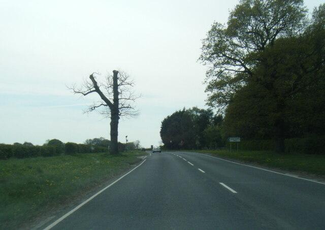 A166 near Holtby