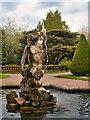 SJ7481 : Neptune (Triton), Tatton Park Italian Garden by David Dixon