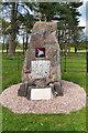 SJ7581 : Airborne Forces Memorial Stone, Tatton Park by David Dixon