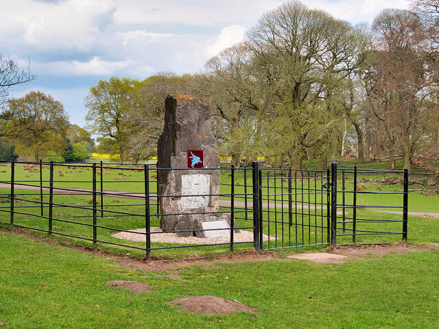 Tatton Park, Memorial to the Airborne Forces