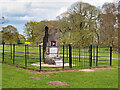 SJ7581 : Tatton Park, Memorial to the Airborne Forces by David Dixon