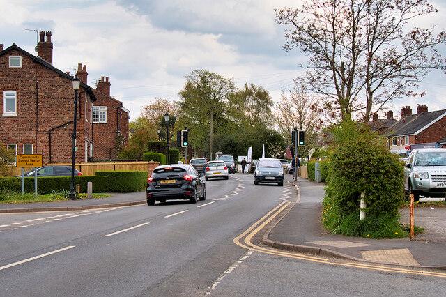 Mobberley, Town lane