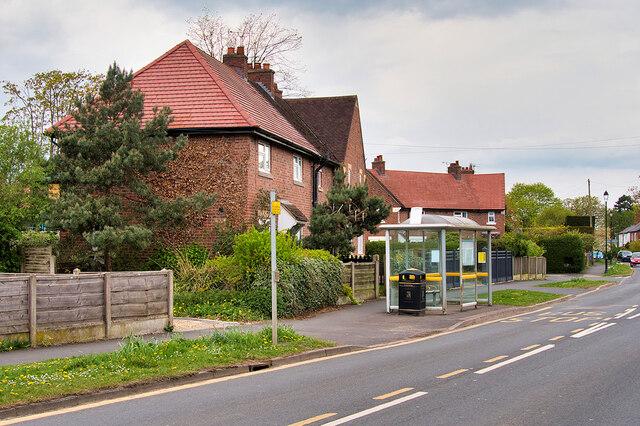 Bus Stop on Town Lane