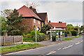 SJ7879 : Bus Stop on Town Lane by David Dixon