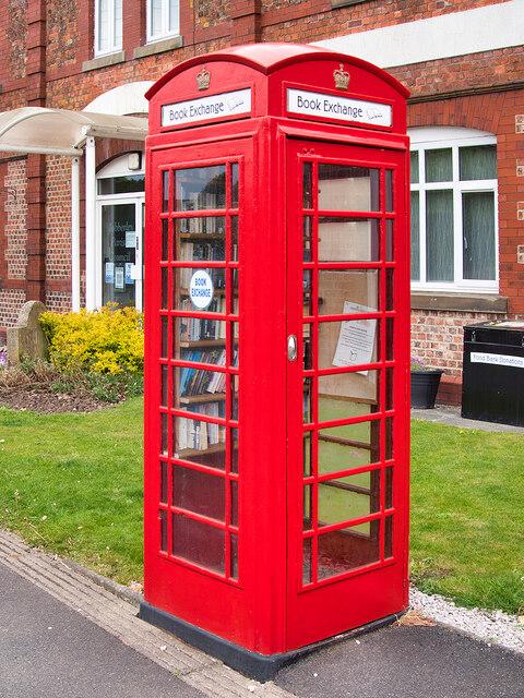 K6 Book Exchange, Mobberley