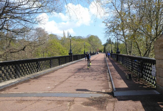 Armstrong Bridge over the Ouse Burn