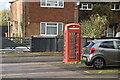 TQ7736 : Telephone kiosk by N Chadwick
