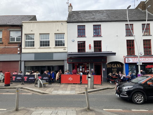 Outdoor hospitality introduced to Market Street, Omagh