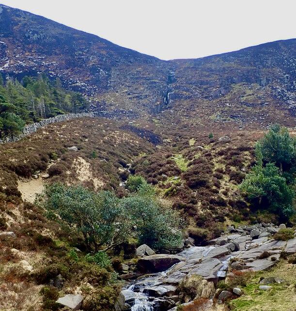 Black Stairs Waterfalls on Thomas's Mountain