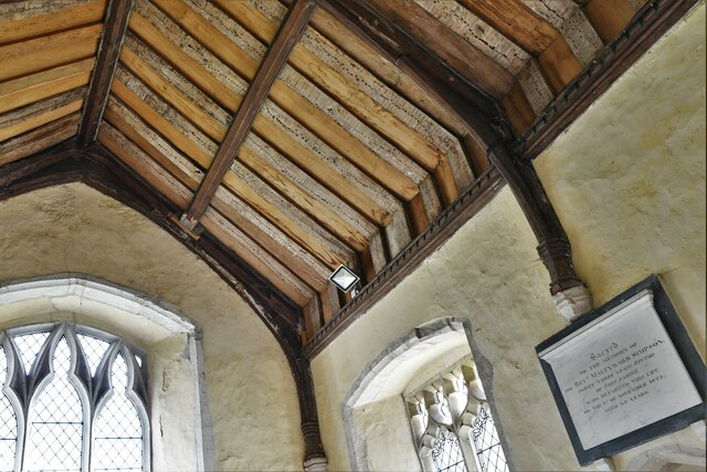 Mickfield, St. Andrew's Church: Roof