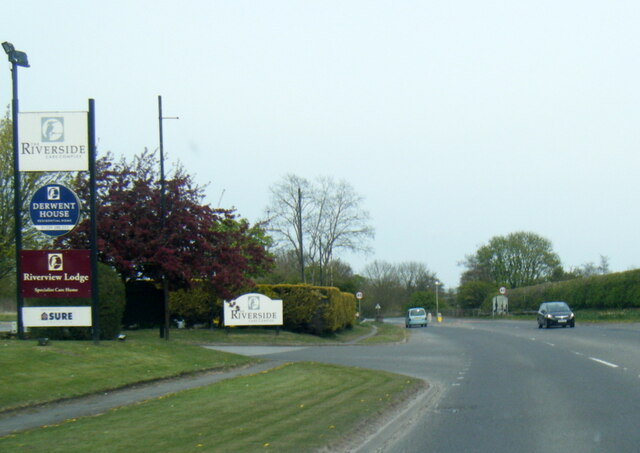 A1079 Hull Road in Kexby