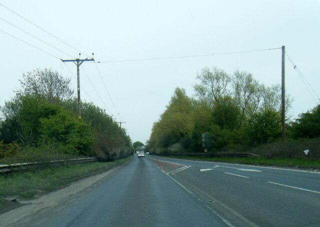A1079 at Wilberfoss