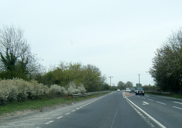 A1079 York Road near The Balk junction at Pocklington
