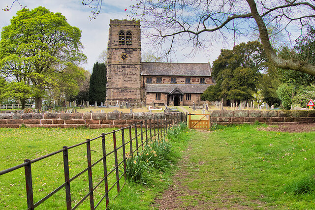 St Wilfrid's Church, Mobberley