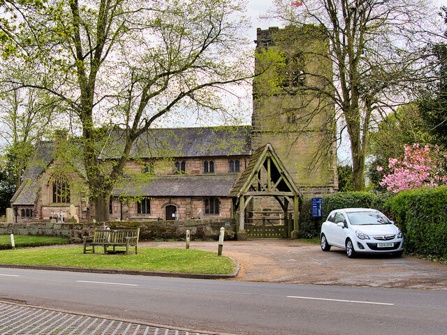 Mobberley, The Parish Church of St Wilfrid