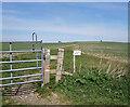 SU4756 : Gate on the Wayfarers Walk by Des Blenkinsopp
