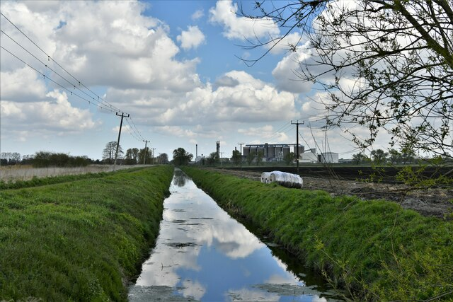 Southery:  Drainage ditch