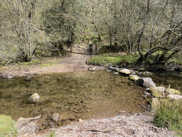 Ford and Stepping Stones at Zeal Farm