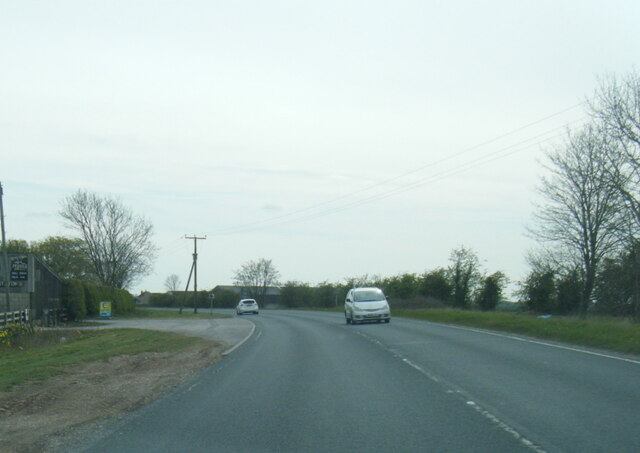 A614 Shipton Lane at Newlands Farm