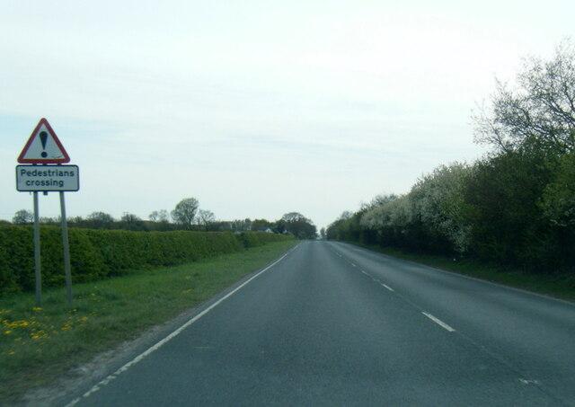 A614 Shipton Lane westbound