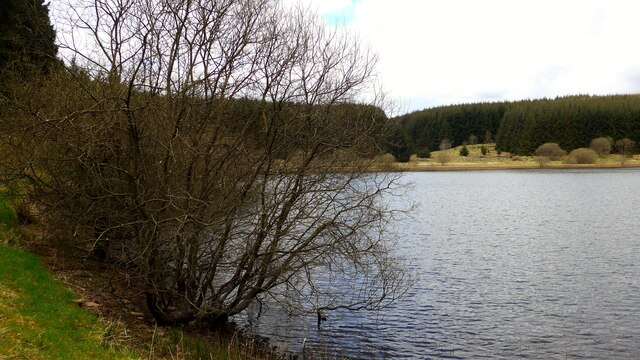 Bay on the Carron Valley Reservoir