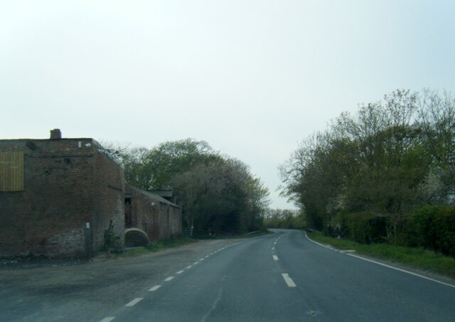 A163 at Allberries Farm