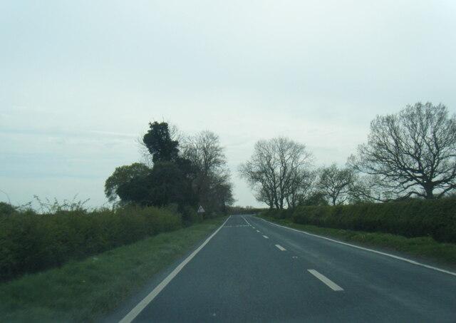 A163 at Westfield Lane