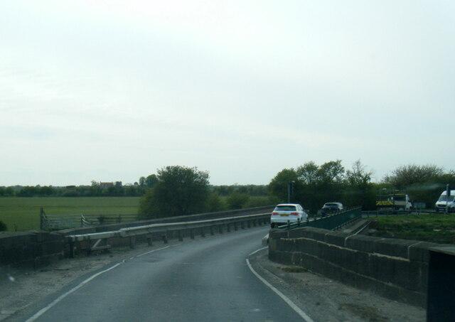 A163 on Derwent Bridge, Bubwith