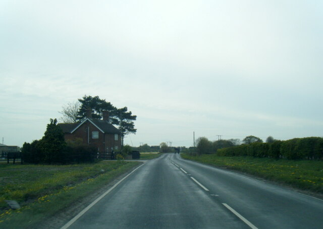 A163 at Crossing Cottage
