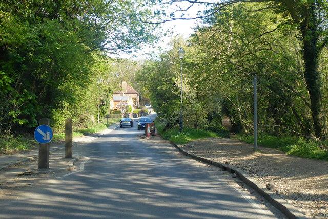 Chicane on B651 Lamer Lane