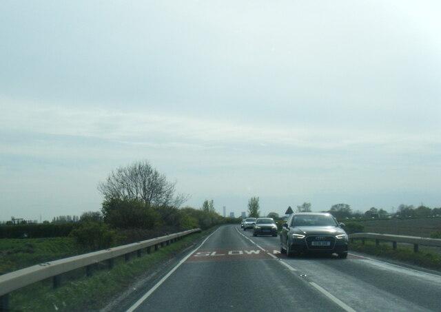 A63 west of Hambleton