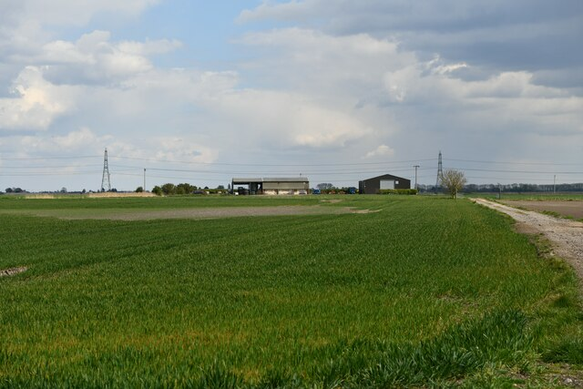 Littleport,  Hale Fen Road: Vinters Farm