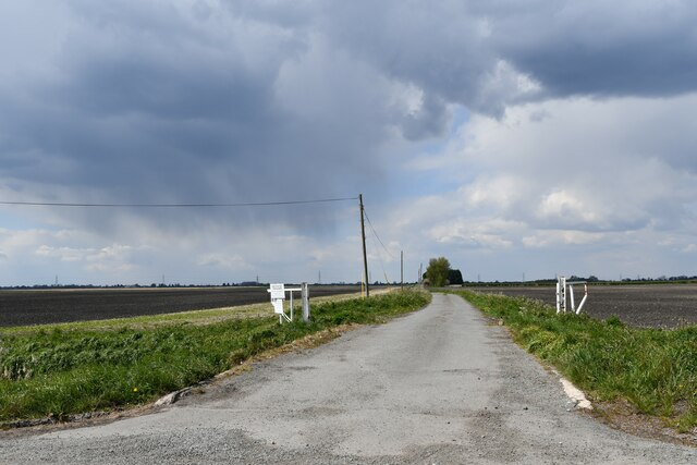 Little Ouse, White House Road: Track to Baker's Yard