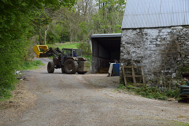 Tractor, Legnabraid