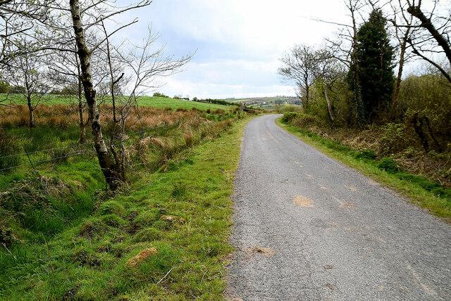 Bend along Legnabraid Road