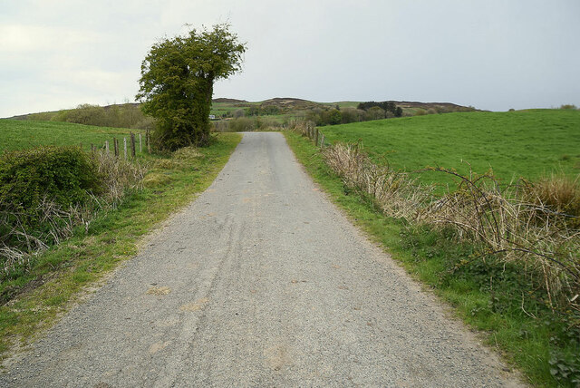 Legnabraid Road, Legnabraid by Kenneth  Allen