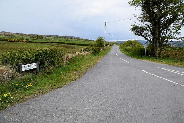Lisnaharney Road, Legnabraid