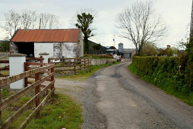 Farm buildings, Ballykeel