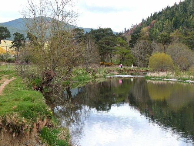 The Tweed near Innerleithen