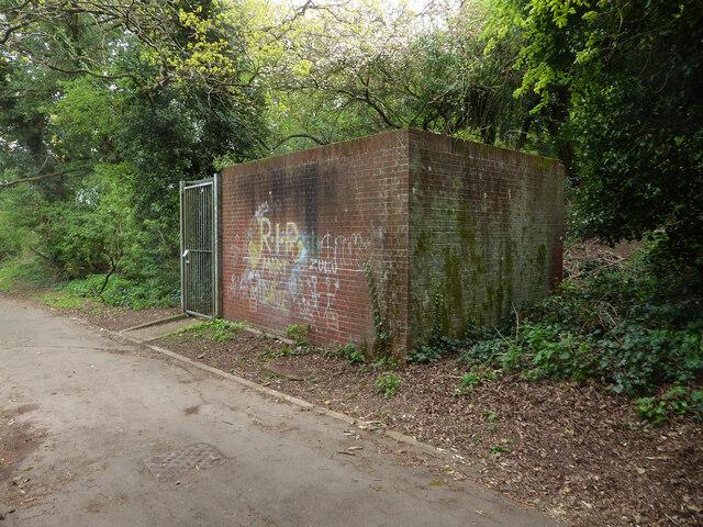 Water infrastructure, Elbury Park, Worcester