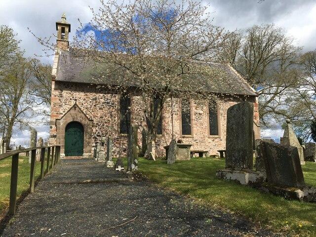 St Michael's Kirk in Gordon Berwickshire