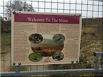 NH7723 : Welcome to the Moor Sign by thejackrustles