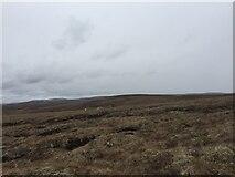 NH7719 : Peat Hags South of Càrn Dubh 'Ic an Deoir Trig Point by thejackrustles