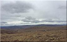 NH7618 : Views East from South of Càrn Dubh 'Ic an Deoir by thejackrustles