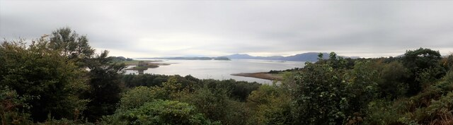 Panorama with Castle Stalker