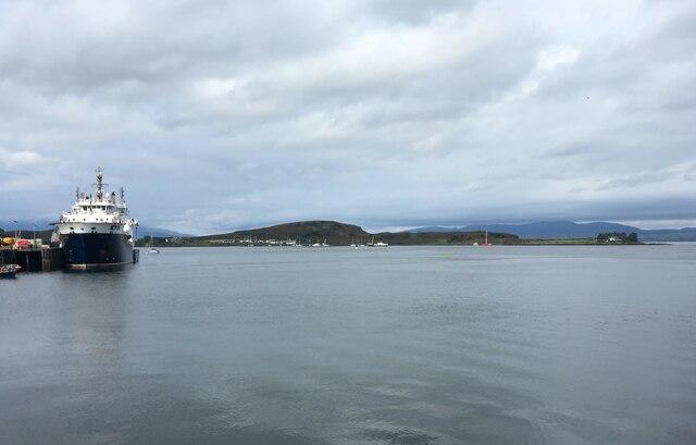Mull ferry and the Isle of Kerrera