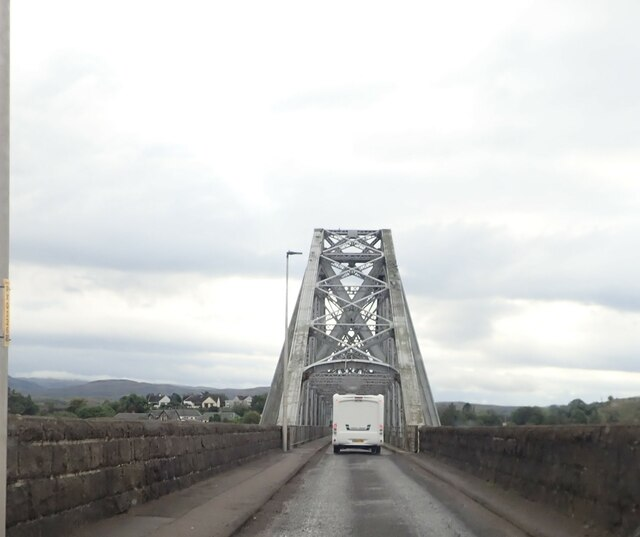 Approaching the Connel Bridge on the A828
